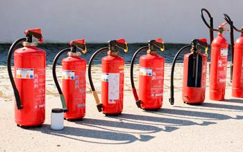 Inspección anual y certificación de extintores